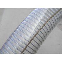 六安钢丝软管_聚鑫橡塑(图)_PVC透明钢丝软管