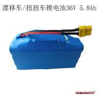18650锂电池组 电动扭扭车 智能平衡双轮代步车锂电池 生产厂家