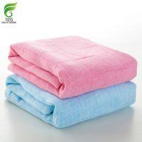 菲苒木纤维毛巾厂家直销,多层纱布舒适透气,天然抗菌纱布抱被,印字加工,90*95cm,170克