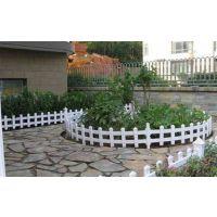 广东揭阳hysw pvc塑钢护栏小区庭院草坪塑护栏
