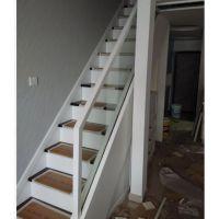 海楼梯定制设计_无水泥基础楼梯开洞口_钢架封包楼梯制作_钢架封包玻璃卡槽楼梯