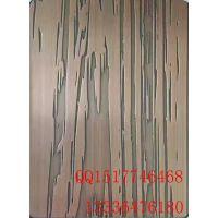 304不锈钢大门专用树皮纹蚀刻花纹板 镀铜树皮纹不锈钢装饰板价格