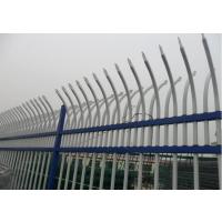 佛山金栏厂家直销锌钢护栏 双向弯头护栏 静电涂喷锌钢围墙栅栏 可定做尺寸规格