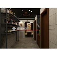 LOFT工业风格烧烤店装修、餐饮店装修设计