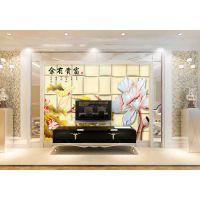 彩虹石品牌 仿古砖沙发艺术电视背景墙 欧式仿大理石背景墙