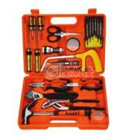 雅赛崎手动家用工具箱22件组合套装多功能电工维修五金工具组套