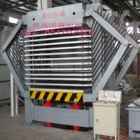 供应同步闭合工业纸板热压机-青岛国森
