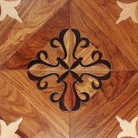 碧斓实木复合地板 艺术拼花木地板亚花梨 酸枝枫桦15mm木地板直销