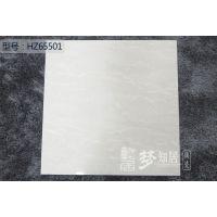 佛山市发源地陶瓷FMZ6601白色自然石超洁亮抛光砖地面砖工程出口瓷砖,厂家直销