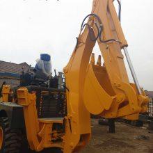 山西渭南厂家直销两头忙挖掘机械挖掘装载机价格表