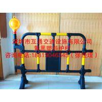 1400*1000黄黑护栏价格、互通道路施工塑料护栏批发、观澜市政施工围栏