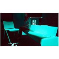 高亮环保荧光面料夜光布 服装舞台装饰自发光长余辉夜光材料