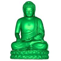 无锡雕塑文物古董激光扫描测绘 逆向抄数画图 二维转三维CAD图档
