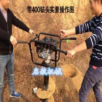 林业机械挖坑机 拖拉机挖坑机 启航牌2016新款打坑机型号