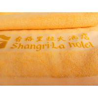 染色全棉毛巾、16支螺旋纱、色织缎档、黄色、大自然、酒店宾馆面巾