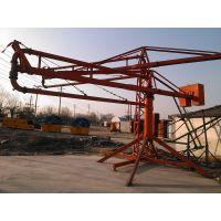 揭阳郑科20米地泵终端大网面浇筑布料设备