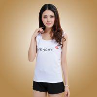 厂家直销韩版新款印花百搭工字型小背心 修身打底衫小背心女
