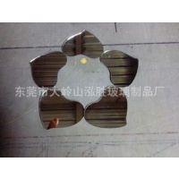 厂家供应1.3MM到8MM玻璃镜片/圆形玻璃镜片/口腔镜片可以加工定制