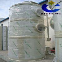 有机废气处理设备公司直销PP酸雾净化器 卧式废气处理塔