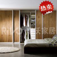 板式家具厂家直销定做成套家具批发价格一步到位的卧室组合衣柜