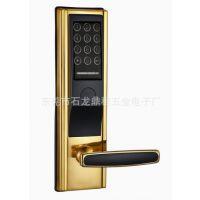 防盗密码锁-小区感应刷卡密码门锁