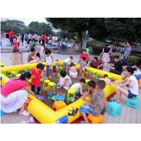 广东揭阳小型摸鱼池 儿童充气沙滩池套装