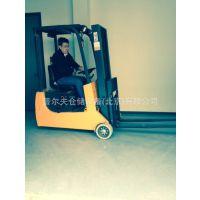 北京厂家直供普尔夫电动叉车 多走向集装箱式仓储货物搬运叉车CPD