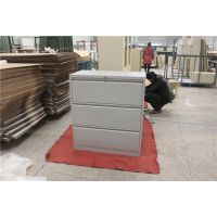洛阳联华专业定做钢制宽体三抽文件柜,多款可选可定做的文件柜
