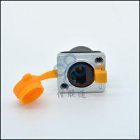 佳联通两端插RJ45水晶头面板固定安装防水插座 led显示屏信号插座