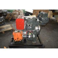 潍坊2110柴油机,双缸船用柴油机,ZH2110船机配套16齿轮箱