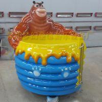 旋转类儿童游乐设施梦幻童缘推出公园游乐设备熊转杯