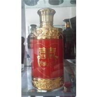 玻璃酒瓶500ml 现货,玻璃酒瓶加工,金鹏包装玻璃