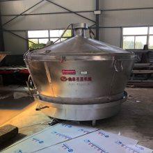 立式酒罐 封闭式白酒冷却器厂家 生料蒸酒设备加工定做