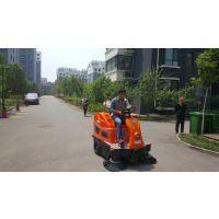 青岛市政物业扫落叶用艾隆AL-V2电动驾驶式无尘扫地机