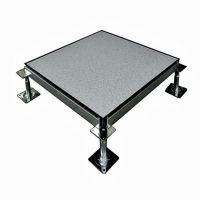 泰翔地坪供应全钢防静电导静电地板 高架防静活动电地板工程