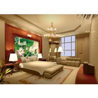 无缝整张大型壁画墙纸墙画壁纸沙发温馨客厅背景墙田园3D立体风景