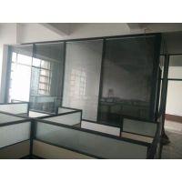 广西柳州双玻百叶隔断型材,多款办公屏风厂家促销在兆拓