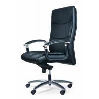北京黎明LM-8091型德国进口优质半青皮办公椅厂家直销