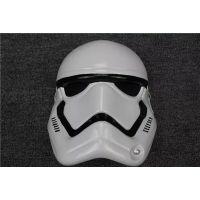 供应新款星球大战面具 白色风暴兵面具 万圣节面具 服装配饰面具