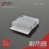恒顺杰 茶炉用散热器 铝型材散热片 佛山厂家 定制 500057