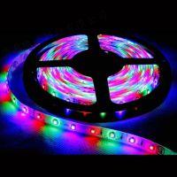 铜线LED灯带扁四线-LED三线灯带-LED室外防水扁三线灯带价格
