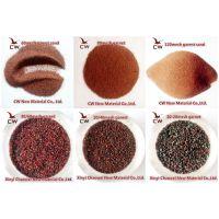 石榴石磨料 石榴砂 水刀砂 天然金刚砂 喷砂材料 抛光研磨 滤料