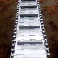 乾德机械供应不锈钢板式链板 斗式提升镀锌链板