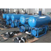 供应天津中蓝市政防洪斜拉轨道雪橇式500QZB-70潜水轴流泵混流泵生产厂家