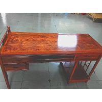 刺猬紫檀豪华木纹1.5米电脑桌批量上市 真正的红木真正的价格便宜 抓紧购买18676037789