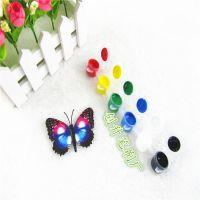 热销石膏DIY彩绘 儿童彩绘 陶瓷彩绘 丙稀彩绘 水彩 亚克力颜料