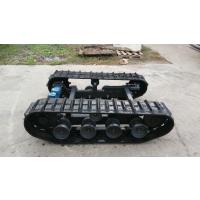 徐州中地小型液压履带底盘、农用机械底盘、钻机底盘,液压马达驱动
