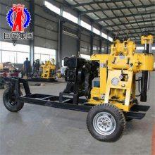 巨匠直销 XYX-130型回转式钻机 小型液压钻井机 130米水文地质水井钻机