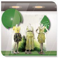 百货购物中心夏季荷叶橱窗展示道具陈列制作 酒吧气氛装饰道具