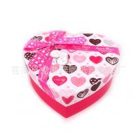 心形大号纸盒 创意喜糖 礼品铁盒  结婚婚庆糖果盒 长方立体盒